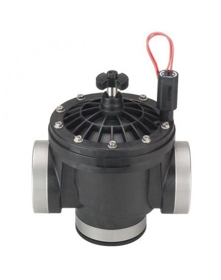 """Hunter ICV-301 Mágnesszelep Átfolyásszabályzóval 3""""BB, 24V ac elektromos szelep"""