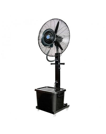 Mobil Párásító Ventilátor, Teraszhűtő Ventilátor Víztartállyal 65 cm