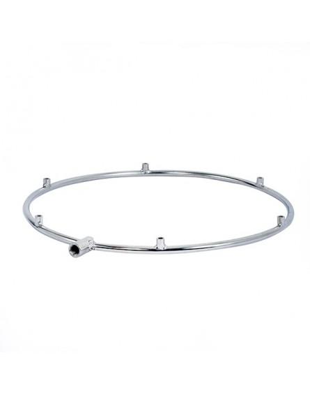 Nagy Nyomású Párásító Gyűrű Teraszhűtő Ventilátorhoz, 6 Fúvókás