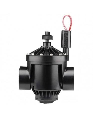 """Hunter PGV-201 Átfolyás szabályzós mágnesszelep 2""""BB, 24V ac elektromos szelep"""