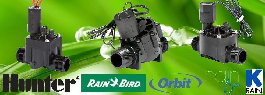 Hunter, Rain-Bird, K-Rain, Rain Elektromos Mágnesszelep és Szolenoid