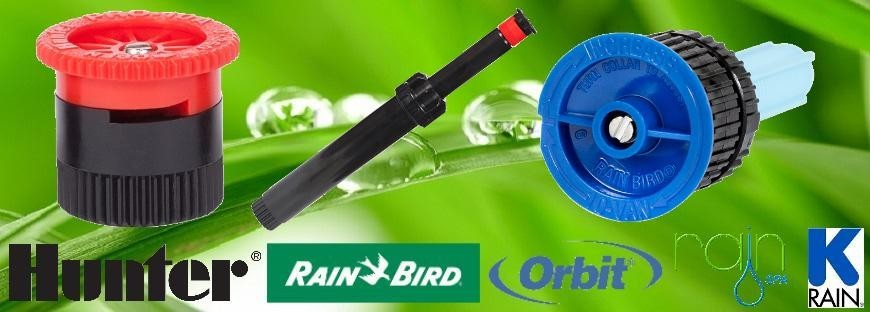 Rain-Bird, K-Rain, Hunter Pro Spray Fúvóka és Spray Szórófej