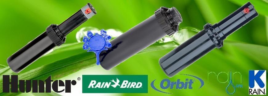 Hunter, Rain-Bird, K-Rain Rotoros Szórófej, Turbinás Forgó Szórófej