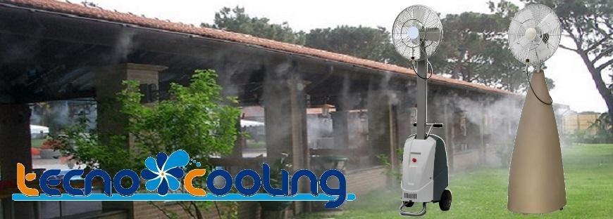 Tecnocooling Párásító ventilátor, Párahűtő rendszerek és Párakapu